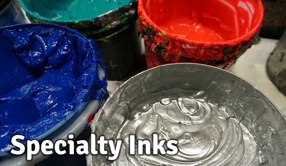 Specialty Inks