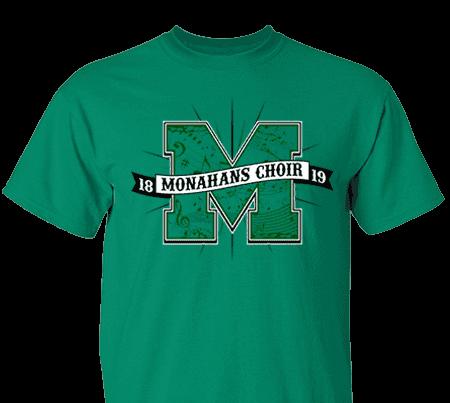 High School T-Shirt Custom Design Tee Crewneck Hoodies Chorus Choir Music Idea